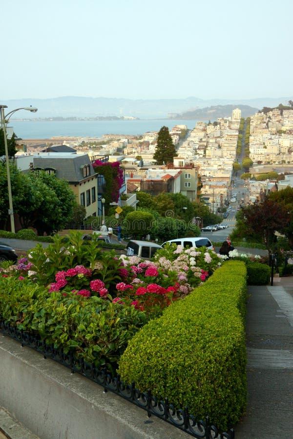 Vista em San Francisco imagem de stock royalty free