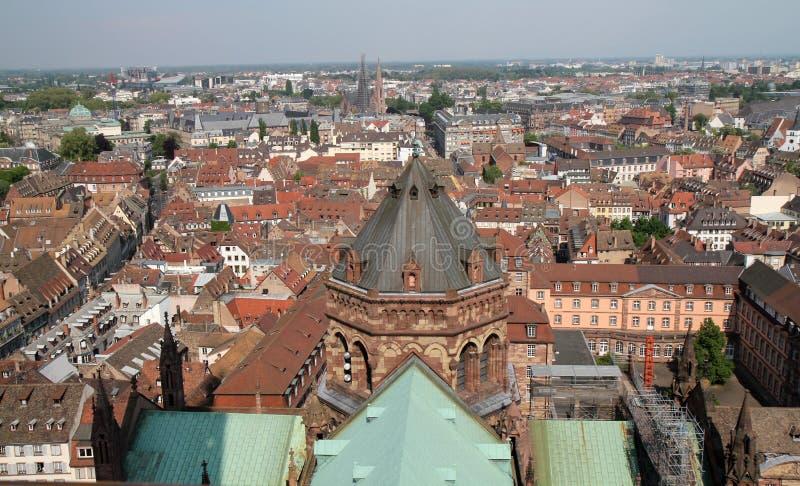 Vista em Strasbourg fotografia de stock royalty free
