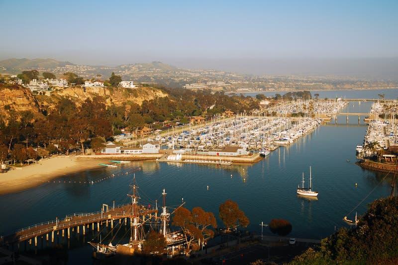 Vista en Dana Point fotografía de archivo libre de regalías