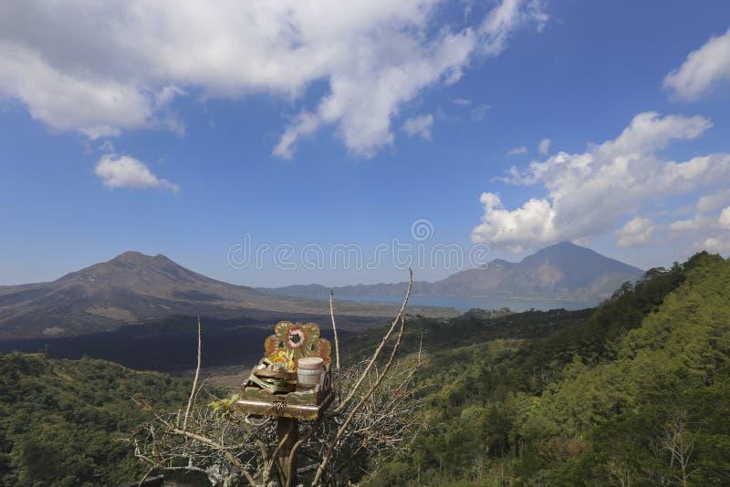 Vista escénica de Kintamani en Bali imagen de archivo libre de regalías