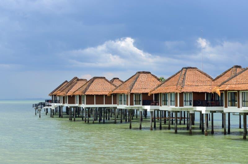 Vista escénica del puerto Dickson, Malasia imagen de archivo libre de regalías
