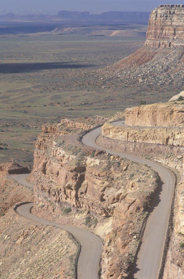 Vista escénica del valle de dioses, Utah imágenes de archivo libres de regalías