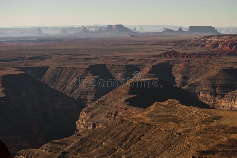 Vista escénica del valle del monumento fotos de archivo