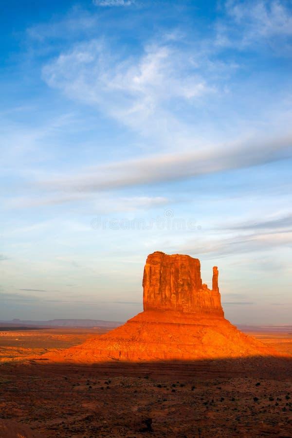 Vista escénica del valle Utah del monumento foto de archivo libre de regalías