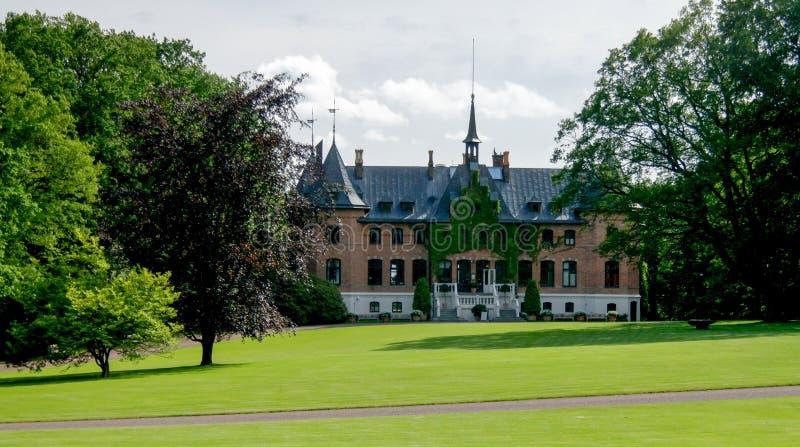 Vista esteriore al palazzo di Sofiero, Helsingborg, Svezia fotografie stock