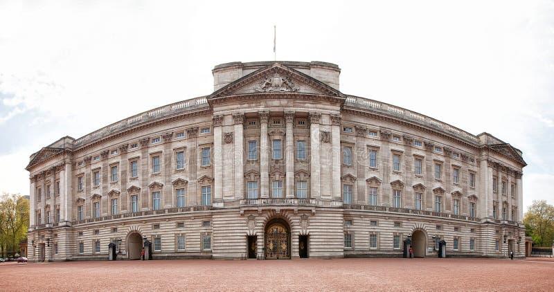 Vista esteriore del Buckingham Palace immagine stock