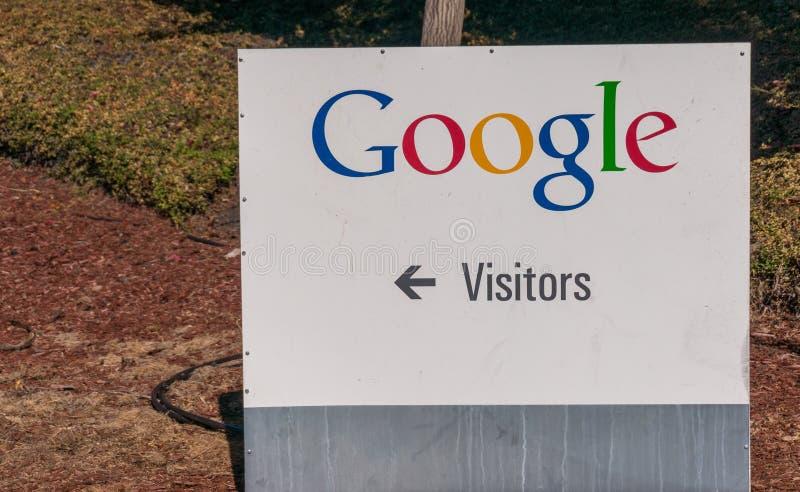 Vista esteriore dell'ufficio di Google fotografia stock
