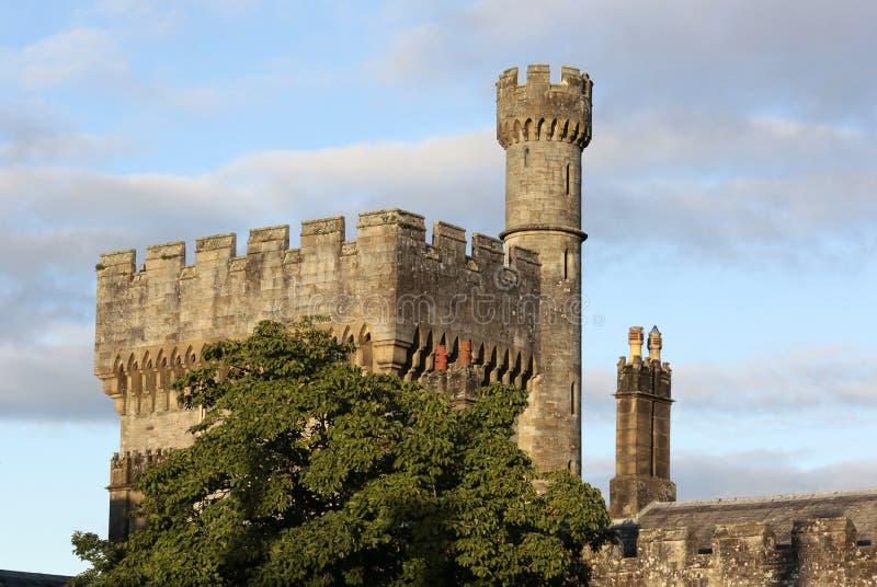 Vista esterna del castello di Lismore, Co provincia di Waterford, Munster, Irlanda immagini stock