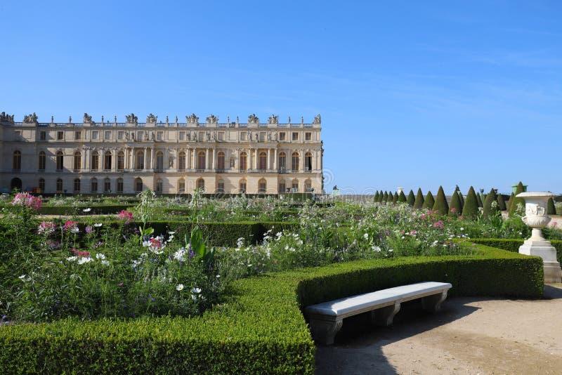 Vista exterior del palacio famoso Versalles El palacio Versalles era un castillo real fotografía de archivo libre de regalías
