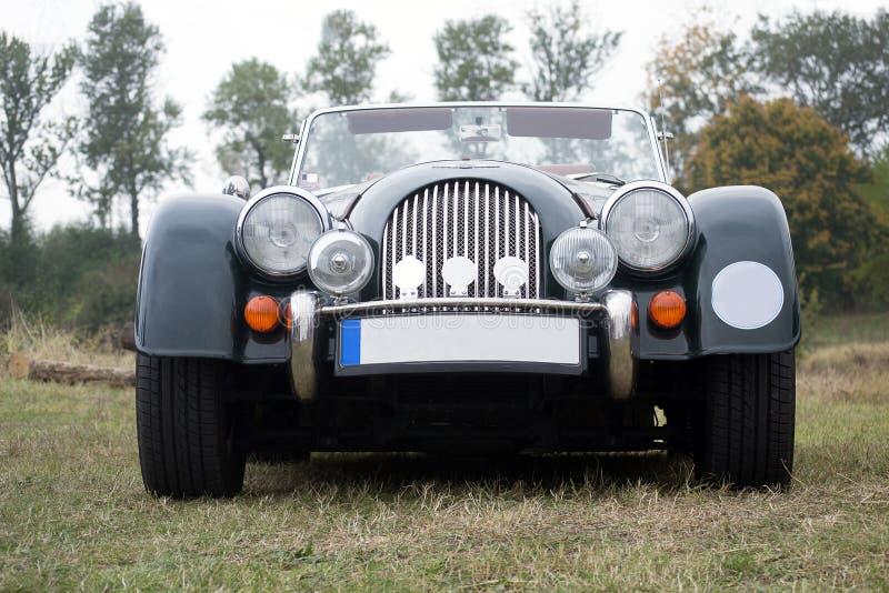 Vista frontale automobilistica d'annata di Morgan fotografie stock libere da diritti