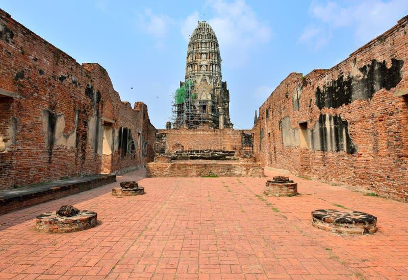 Tempio Thammikkarat, Ayutthaya immagine stock libera da diritti