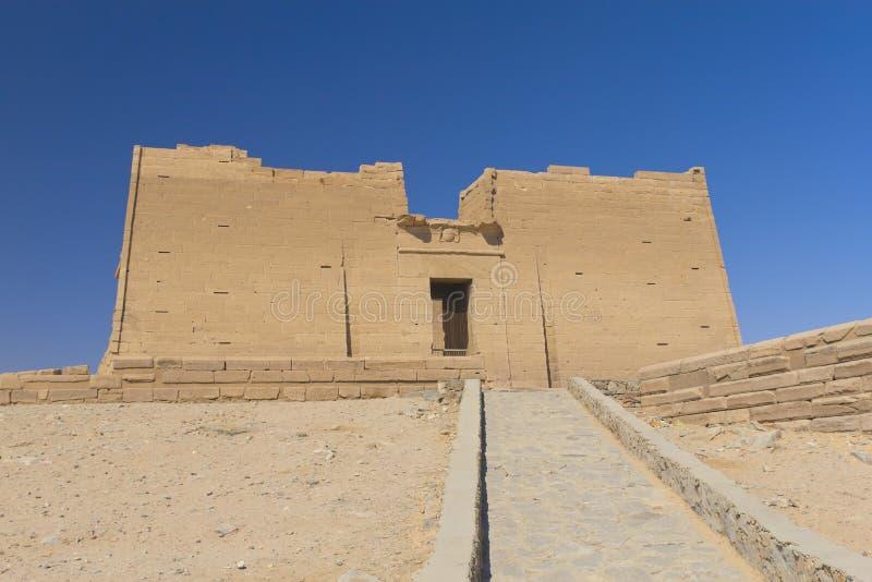 Vista generale del tempiale di Kalabsha (Egitto) fotografia stock