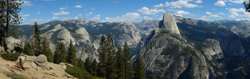 Vista glaciale di panorama del punto fotografie stock libere da diritti