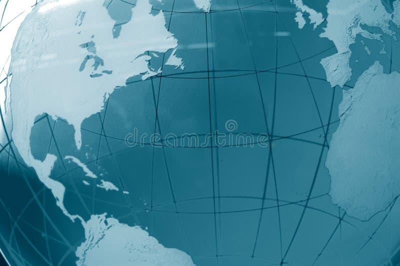 Vista global fotografia de stock