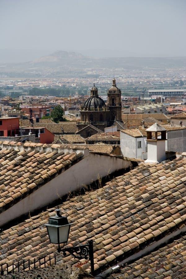 Vista of Granada stock images