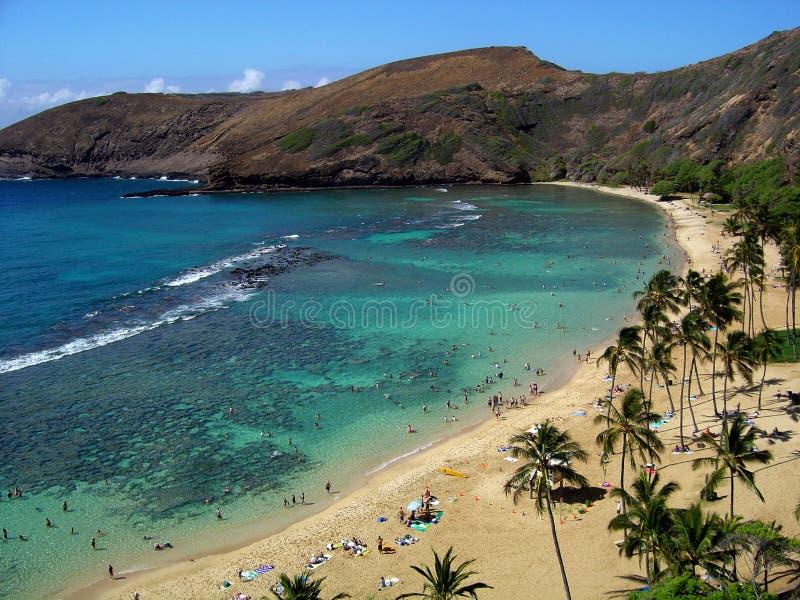 Vista-Honolulu foto de stock