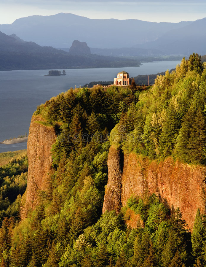 Download Vista House, Columbia River Gorge Stock Image - Image: 1934261