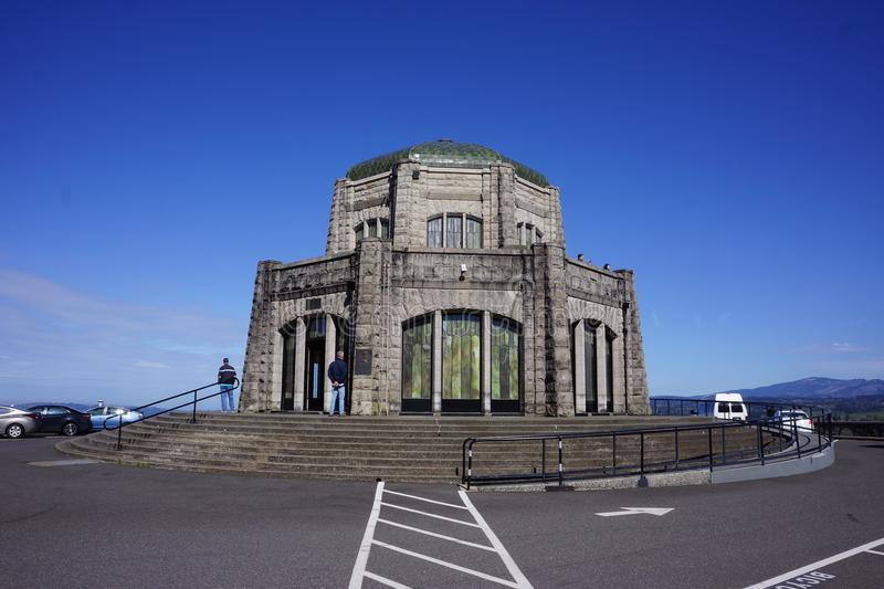 Vista House in the Columbia River Gorge, Oregon royalty free stock photography