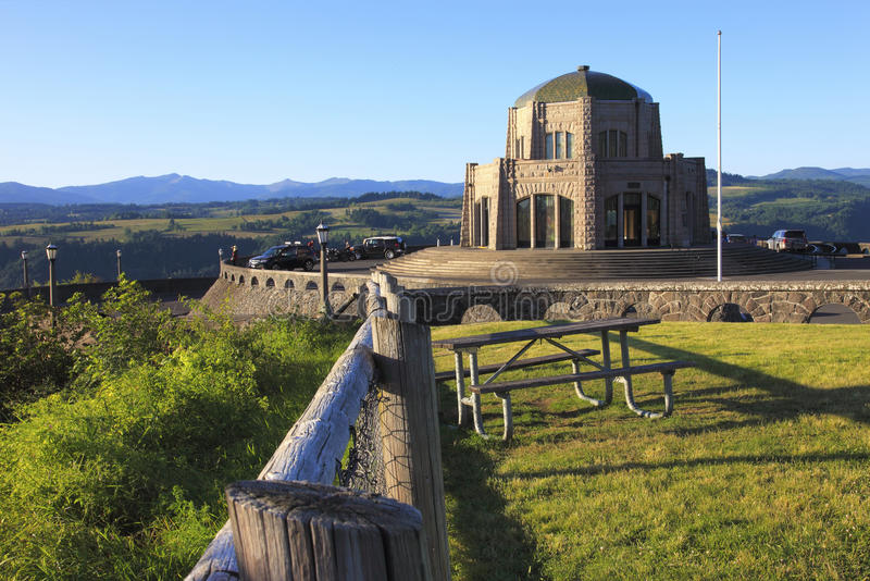 Download Vista House, Portland OR. stock photo. Image of center - 25088278