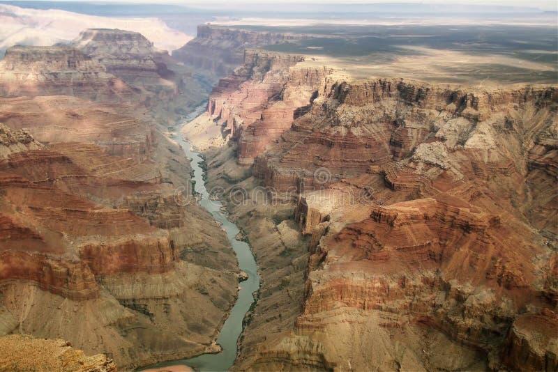 Vista impressionante sopra Grand Canyon fotografia stock
