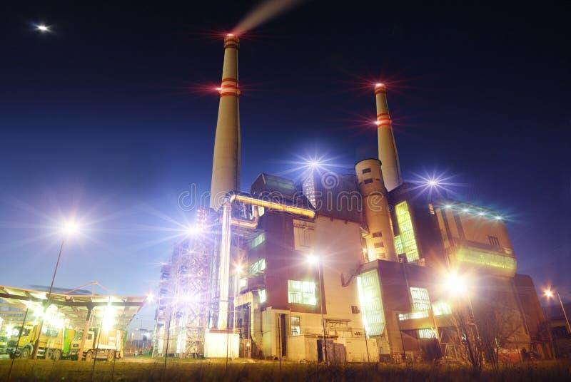 Vista industriale immagini stock