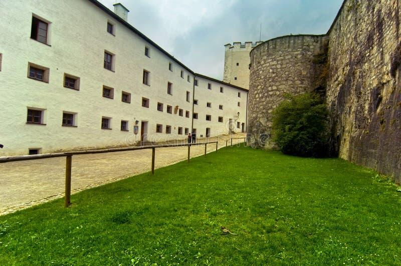 Vista interior de Hohensalzburg foto de archivo libre de regalías