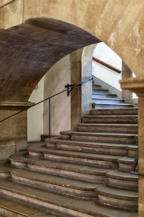 Vista interna della cappella di Medici fotografia stock