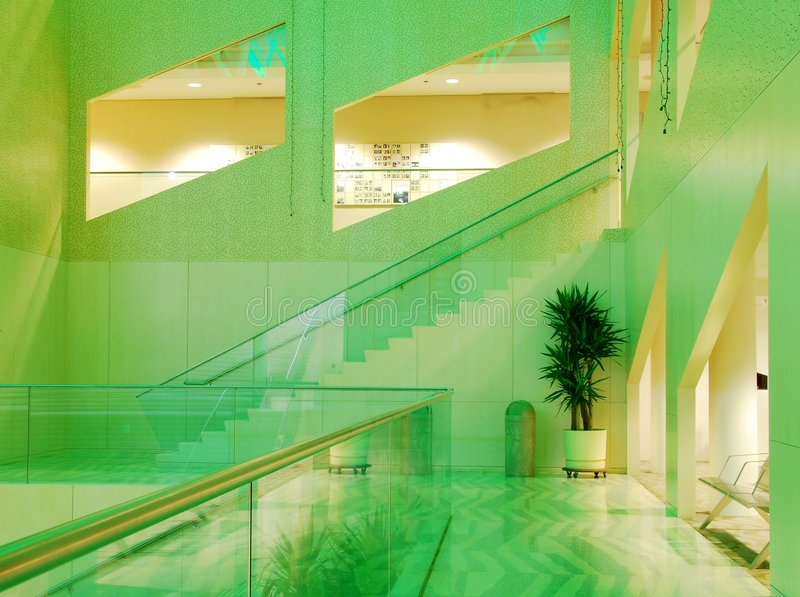 Vista interna della città corridoio di Edmonton fotografie stock libere da diritti