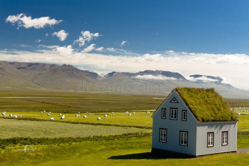 Vista islandêsa típica. imagens de stock
