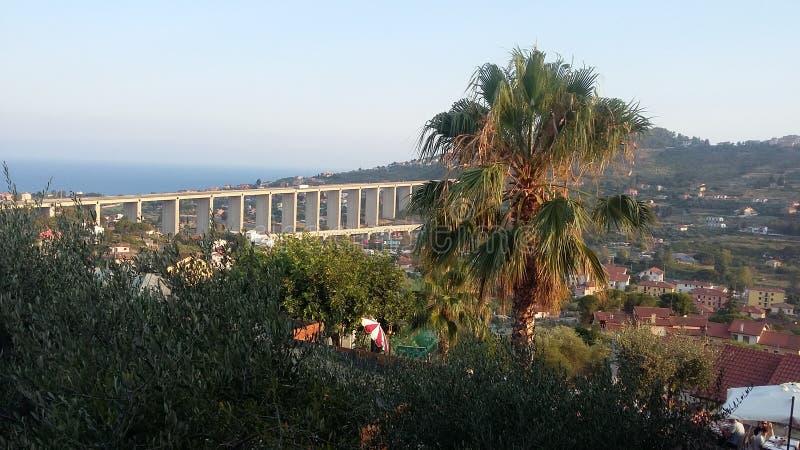 Vista lateral de mar imágenes de archivo libres de regalías