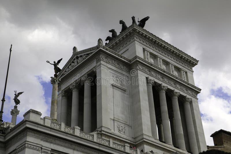 Vista lateral de Patria del della de Altare imagen de archivo