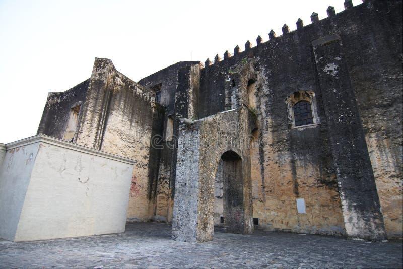 Vista lateral del La Asuncion de la catedral foto de archivo