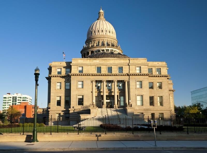 Vista laterale dei capitali dello Stato dell'Idaho immagini stock libere da diritti