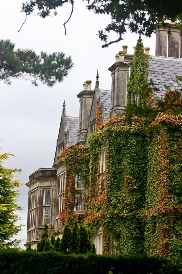 Vista laterale della Camera di Muckross, Killarney, Irlanda immagini stock libere da diritti