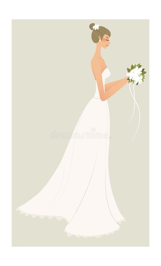 Download Vista laterale della donna illustrazione vettoriale. Illustrazione di casuale - 30828450