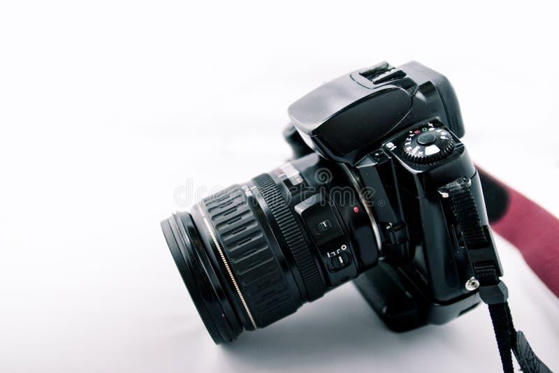 Vista laterale della macchina fotografica fotografie stock