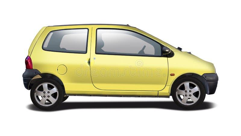 Vista laterale di Renault Twingo fotografia stock libera da diritti