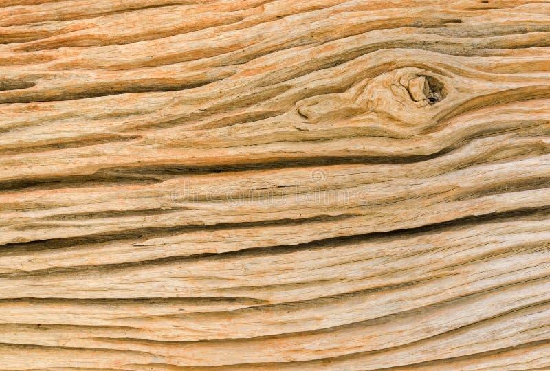 Vista laterale di vecchia struttura di legno fotografia stock