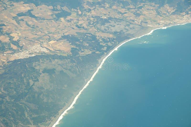 Vista litoral do Chile imagem de stock royalty free