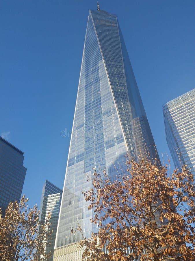 Vista lunga di Freedom Tower fotografie stock libere da diritti