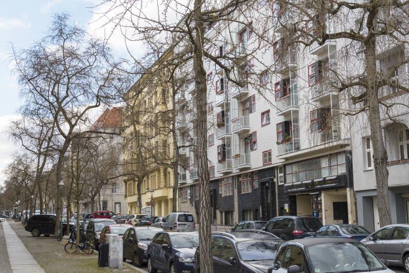 Condominio moderno a berlino immagine stock immagine di for Palazzine moderne