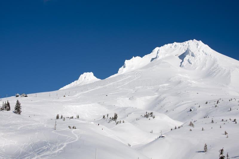 Vista majestosa da capa da montagem em Oregon, EUA. imagens de stock