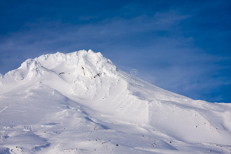 Vista majestosa da capa da montagem em Oregon, EUA. fotografia de stock