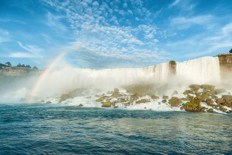 Vista majestosa no Niagara Falls foto de stock royalty free