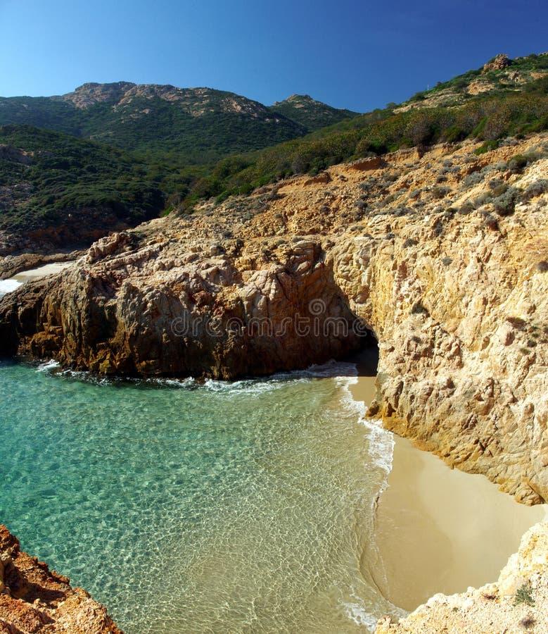 Vista maravillosa de la costa de S.Margherita imagen de archivo libre de regalías