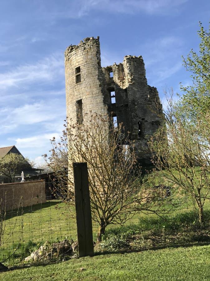 Vista medieval bonita foto de stock royalty free