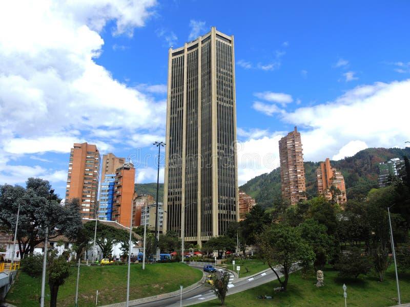 Vista moderna di Bogota, Colombia fotografia stock libera da diritti
