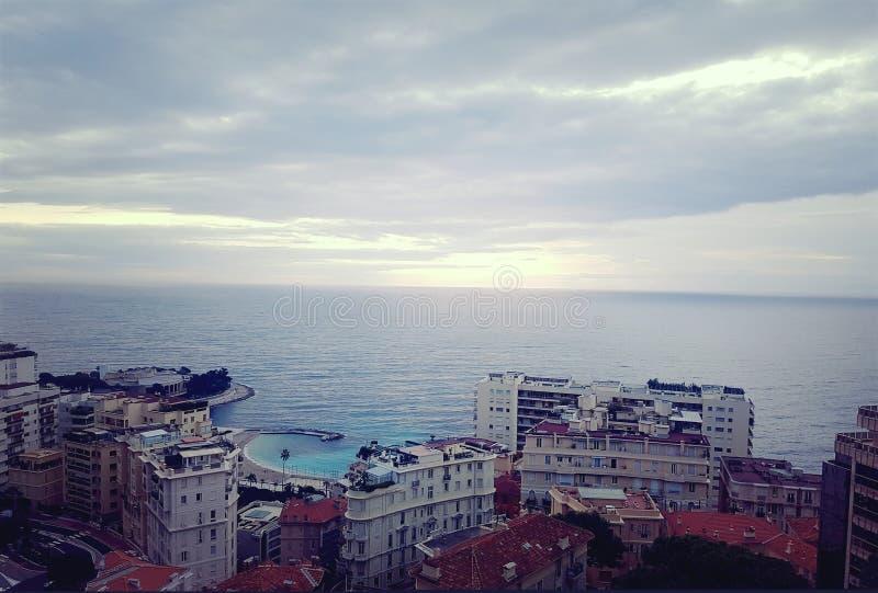 Vista Monaco fotografia stock