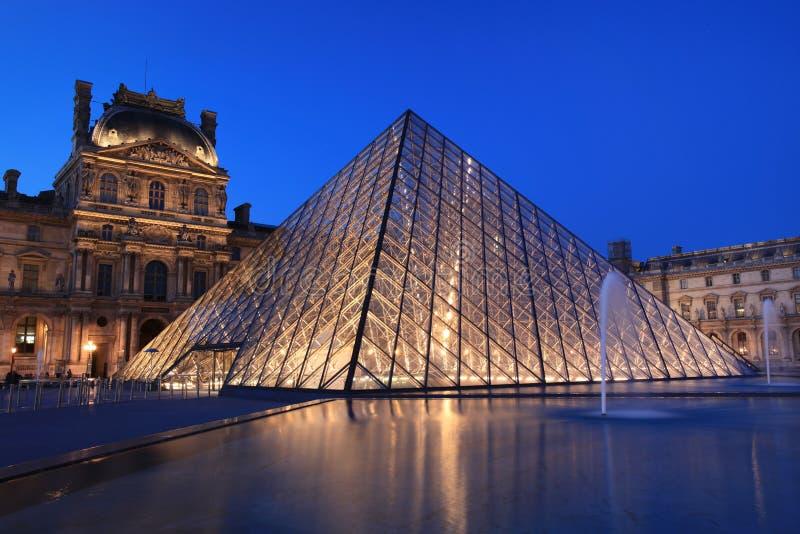 Vista na pirâmide da grelha fotografia de stock