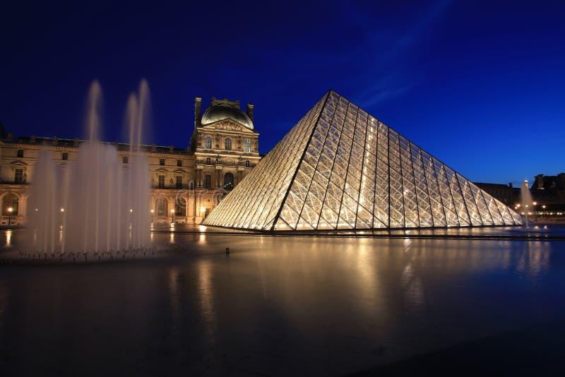 Vista na pirâmide da grelha imagem de stock royalty free